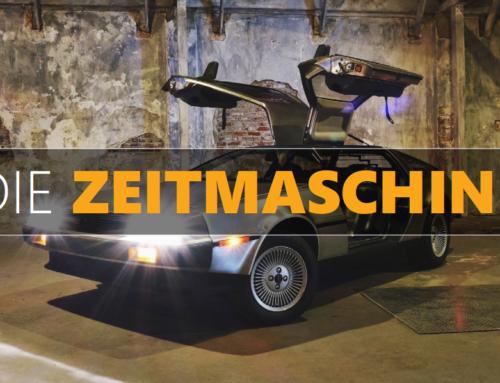 ANDERS DENKEN / DIE ZEITMASCHINE – Vorwärts in die Zukunft.