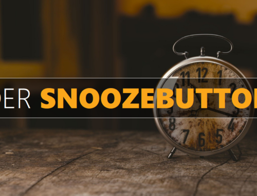 ANDERS DENKEN / DER SNOOZEBUTTON