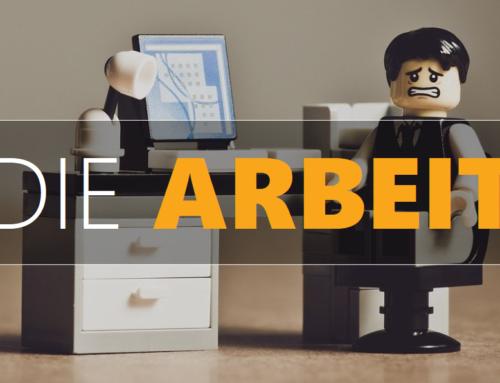 ANDERS DENKEN / DIE ARBEIT